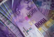Pound hits best rate to buy Swiss francs in 6 weeks