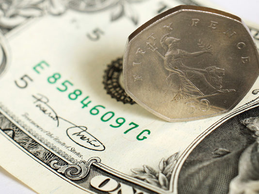 GBP to USD Rate Breaks Through 1.35 Barrier