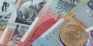Pound to Australian Dollar rate AUD makes gains against Sterling