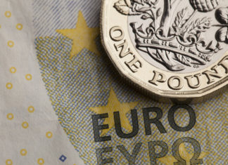 Pound to Euro Exchange Rate GBPEUR Rate Remains in 1.10's, 6-Month Lows, as Stock Market Sell-Off Continues