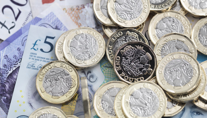 GDP and US interest rate decision to impact sterling exchange rates