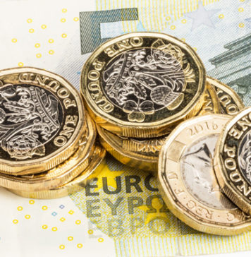 Pound ends the week on a high vs the euro