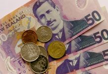 The Kiwi dollar and the pound rise on better news