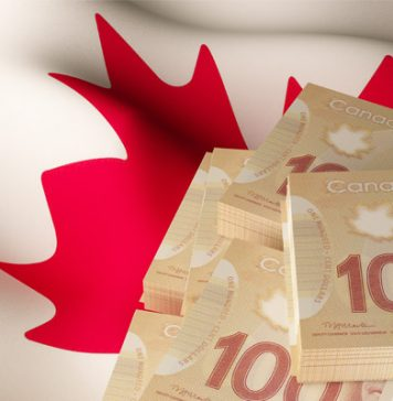 Rate to buy Canadian Dollars with Pounds drops to its lowest level since November 2017