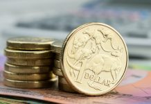 Australian dollar up against the pound but could have problems next week with Australian inflation data