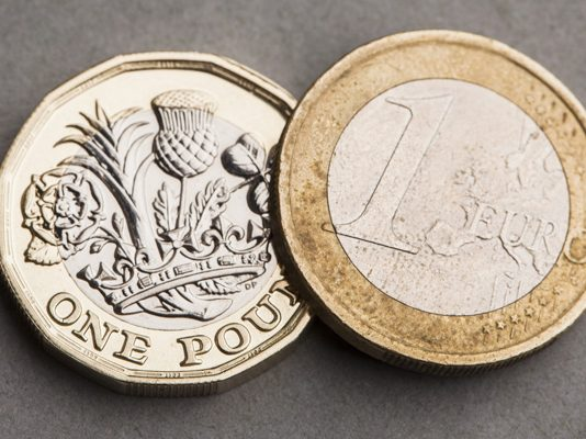 Pound to Euro Rate Flat After Mixed U.K. Employment Numbers
