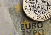 Pound to euro rate falls prior to the European elections