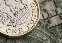 Pound to Dollar Rate Reverses Gains