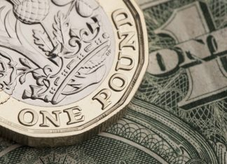 GBP/USD exchange rate breaches 1.30