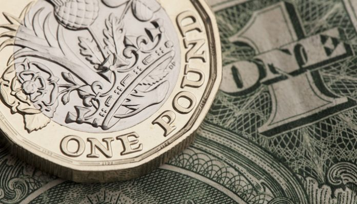 Pound to Dollar Rate Holds Steady