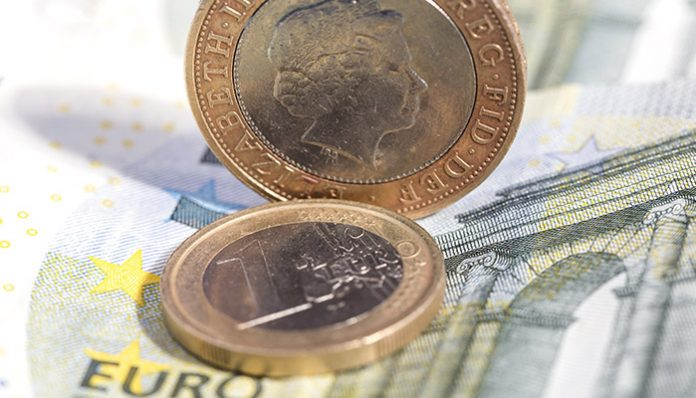 Sterling fails to make any inroads against the Euro despite positive UK services data