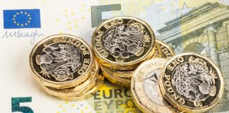 Pound to Euro exchange rate remains under pressure as no-deal risk increases, could GBPEUR drop below 1.09?