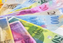 Sterling breaks 1.30 against the Swiss Franc
