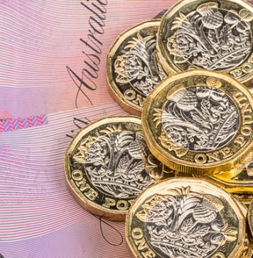 GBP to AUD Rate Weakens as the Aussie Strengthens on Positive Economic Data