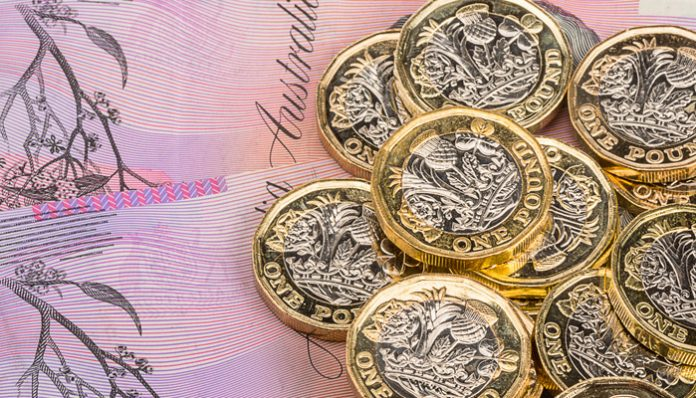 Pound to Australian Dollar rate slides as 'no deal' Brexit probability increases